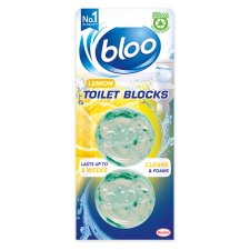 Bloo Acticlean Cistern Block Citrus Twinpack