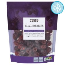 Tesco Frozen Blackberries 350G