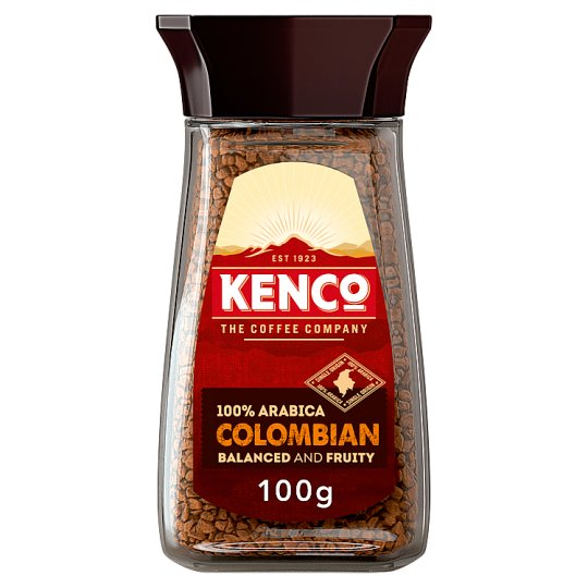 Kenco Pure Colombian Instant Coffee 100G