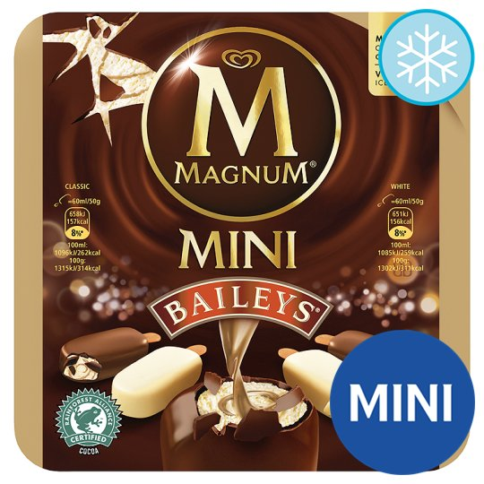 Magnum Mini Baileys Ice Cream 6 X 60Ml