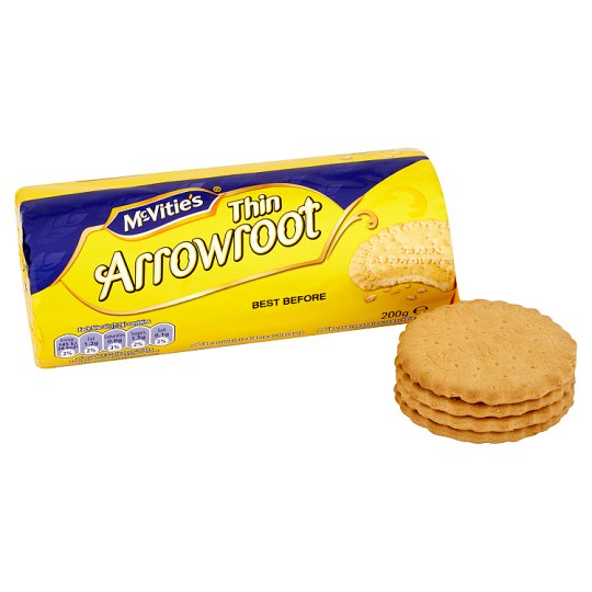 Mcvities Crawford Thin Arrowroot Biscuits 200G