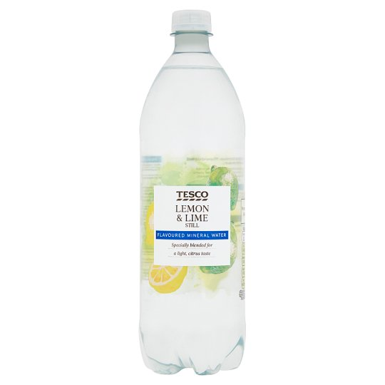 Tesco Lemon And Lime Still Flavoured Water 1Ltr