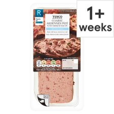 Tesco Ardennes Smoked Bacon Pate 200G
