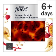 Tesco Finest Cheesecake Passion Fruit And Raspberry 540G