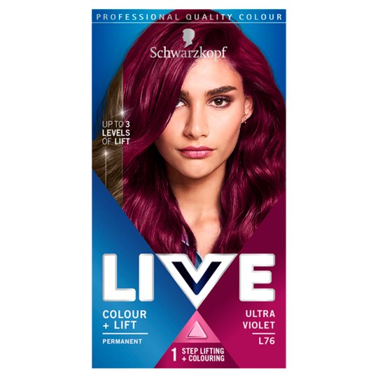 Schwarzkopf Live Intensive Color Plus Lift Ultra Violet Hair Dye