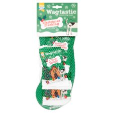 Wagtastic Dog Treat Christmas Stocking