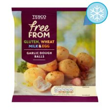 Tesco Free From Garlic Doughballs 137G