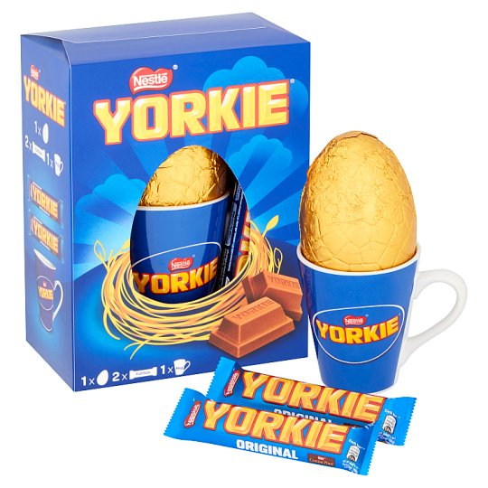 image 1 of Nestle Yorkie Easter Egg And Mug 192G