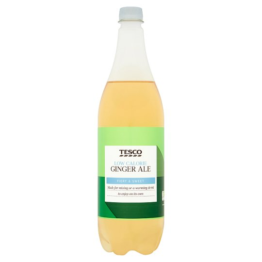 Tesco Low Calorie American Ginger Ale 1 Litre