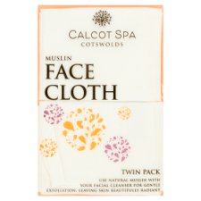 Calcot Manor Muslin Facecloth