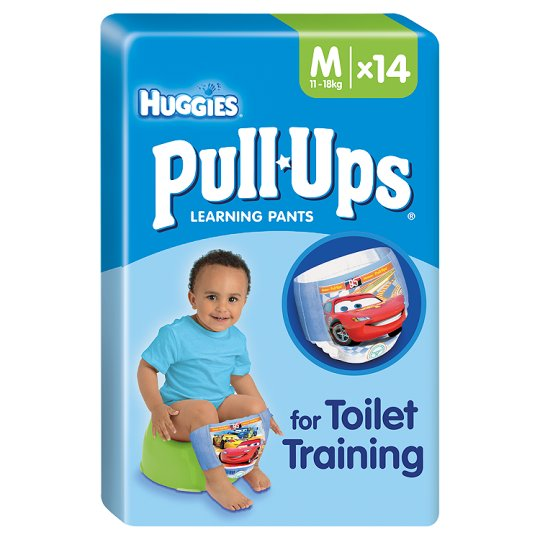 Huggies Pull Ups Size 5 Boy Carry Pack 14