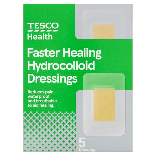 Tesco Hydrocolloid Dressings Assorted 5'S