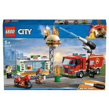 Lego Burger Bar Fire Rescue 60214