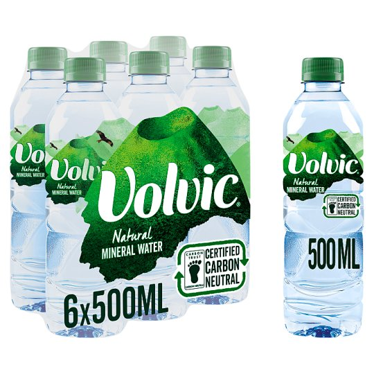 image 1 of Volvic Still Mineral Water 6X50cl Pack