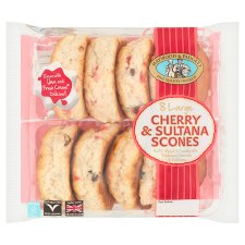 Haywood Padgett Cherry And Sultana Scones X8