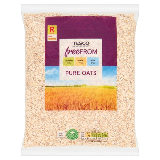 Tesco Free From Pure Oats 450G