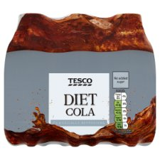 Tesco Diet Cola 6X250ml
