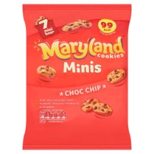Maryland Mini Cookies Chocolate Chip 7X19.8G