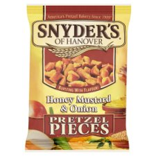 Snyders Honey Mustard And Onion Pretzel Pces125g