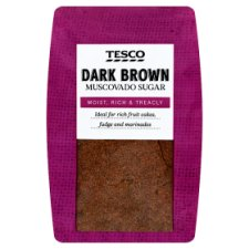 Tesco Dark Muscovado Sugar 500G Pack