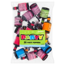 20 Party Poppers