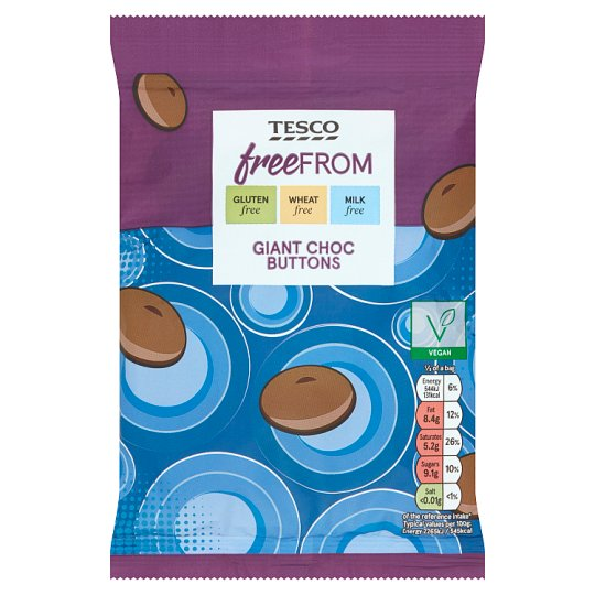 Tesco Freefrom Giant Buttons 119G