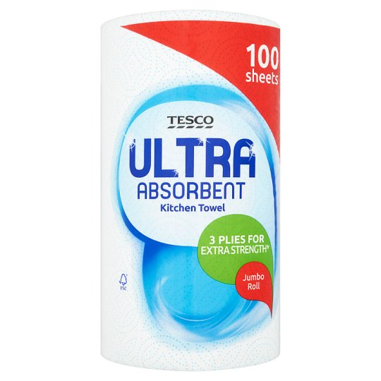 Tesco Ultra Absorbent Jumbo Roll