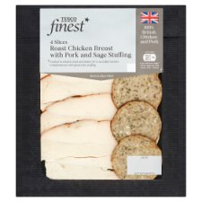 Tesco Finest Chicken Breast With Stuffing 125G