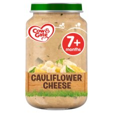 Cow & Gate Creamy Cauliflower Cheese Jar 200G 7 Mth+