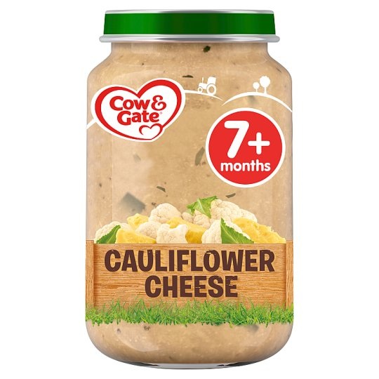 image 1 of Cow & Gate Creamy Cauliflower Cheese Jar 200G 7 Mth+