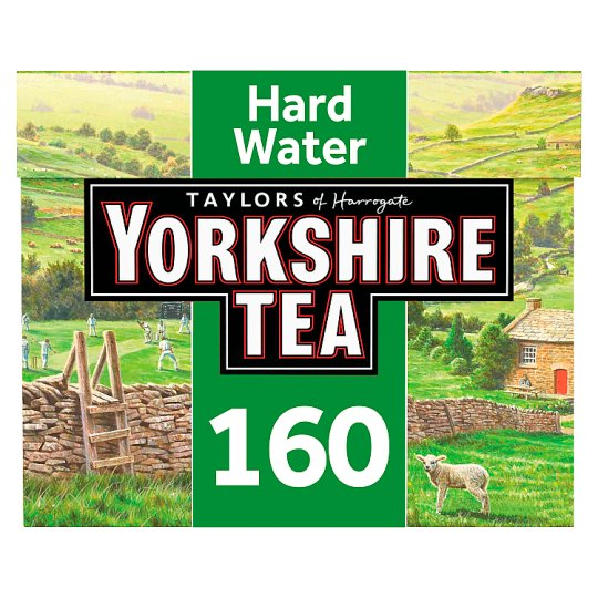Yorkshire 160 Teabags Hard Water 500G