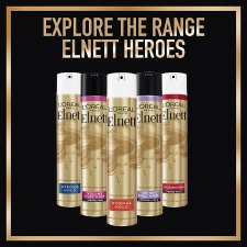 image 2 of L'oreal Elnett Normal Strength Hair Spray 200Ml