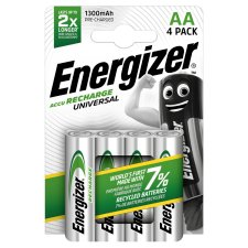 Energizer Unvrsl Rechgble Aa 4 Pack