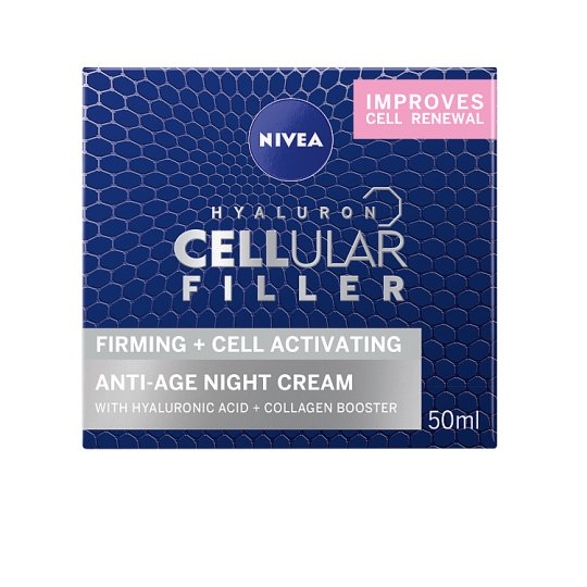 image 1 of Nivea Facecare Cellular Night Cream 50Ml