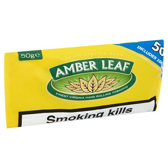 amber leaf roll your own 50g groceries tesco groceries