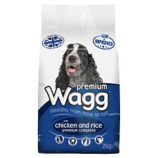 Wagg Chicken Rice And Vegetable Dry Dog Food 2Kg