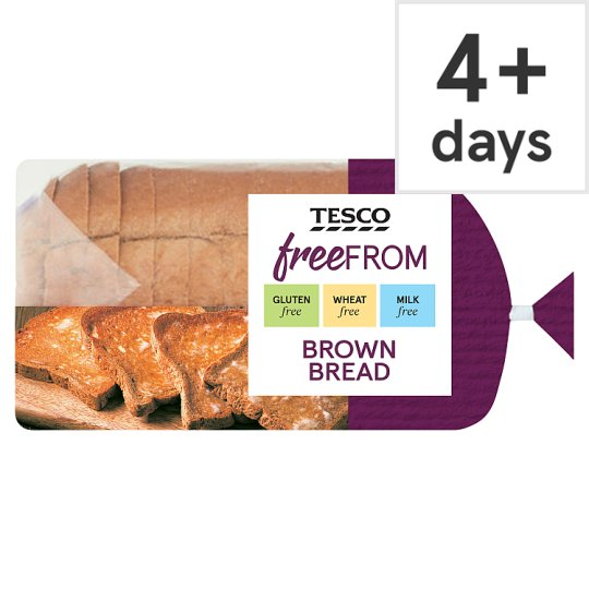 Tesco Free From Brown Bread 550G