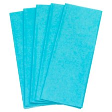 Tesco Baby Blue Tissue 5 Pack