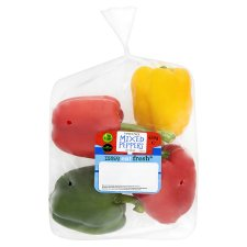 Tesco Family Pack Mixed Peppers 650G