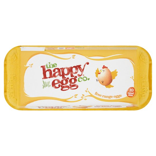Happy Egg Mixed Weight Box Of 10