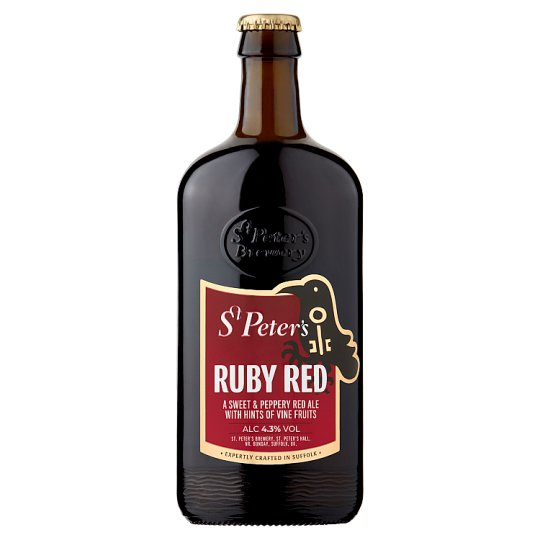 St Peter's Ruby Red Ale 500Ml