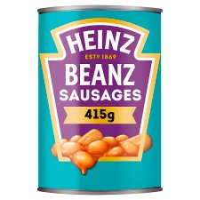 Heinz Baked Beans And Pork Sausages 415g Groceries