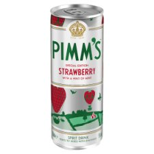 Pimm's Strawberry Ready To Drink 250Ml