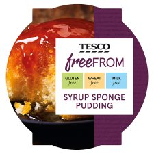 Tesco Free From Syrup Sponge 115G