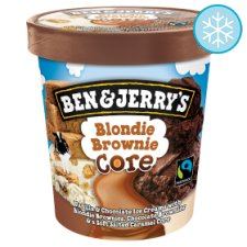 Ben & Jerry's Blondie Brownie Ice Cream 500Ml