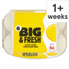 Big And Fresh Mixed Sized Eggs 6 Pack