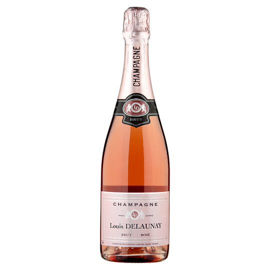 Louis delaunay rose champagne 75cl tesco groceries for What is rose champagne