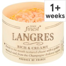 Tesco Finest Langres Soft Cheese 180 G