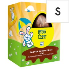 Moo Free From Easter Egg Bunnycomb 110G