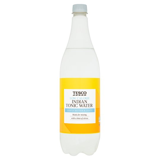 Tesco Low Calorie Indian Tonic Water 1Litr